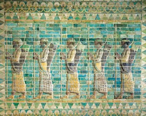 palazzo reale di Dario I a Susa
