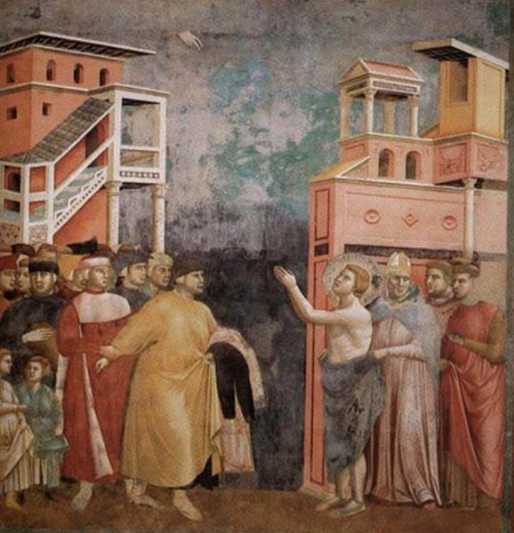 francesco di assisi nell'arte