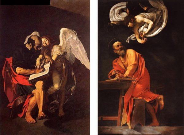 Il Ciclo di San Matteo del Caravaggio
