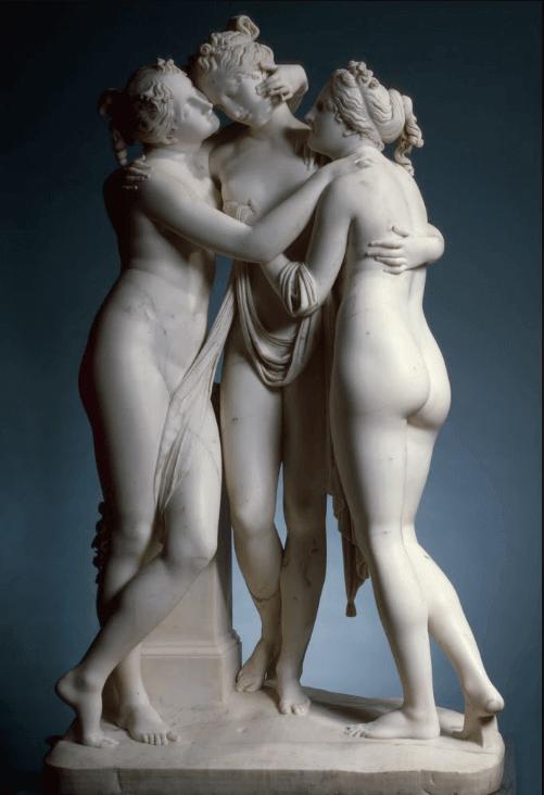 Le tre Grazie di Antonio Canova