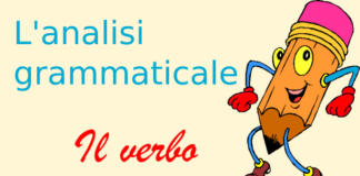 analisi grammaticale del verbo