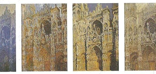 La serie de Le Cattedrali di Rouen di Claude Monet