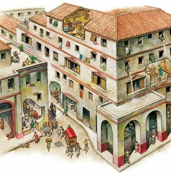 Case Romane Insulae E Domus Struttura E Arredo Studia Rapido