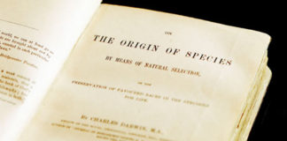 L'origine della specie di Charles Darwin