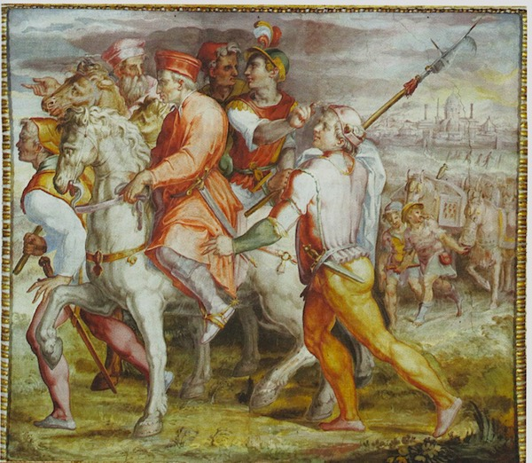 Esilio di Cosimo dei Medici