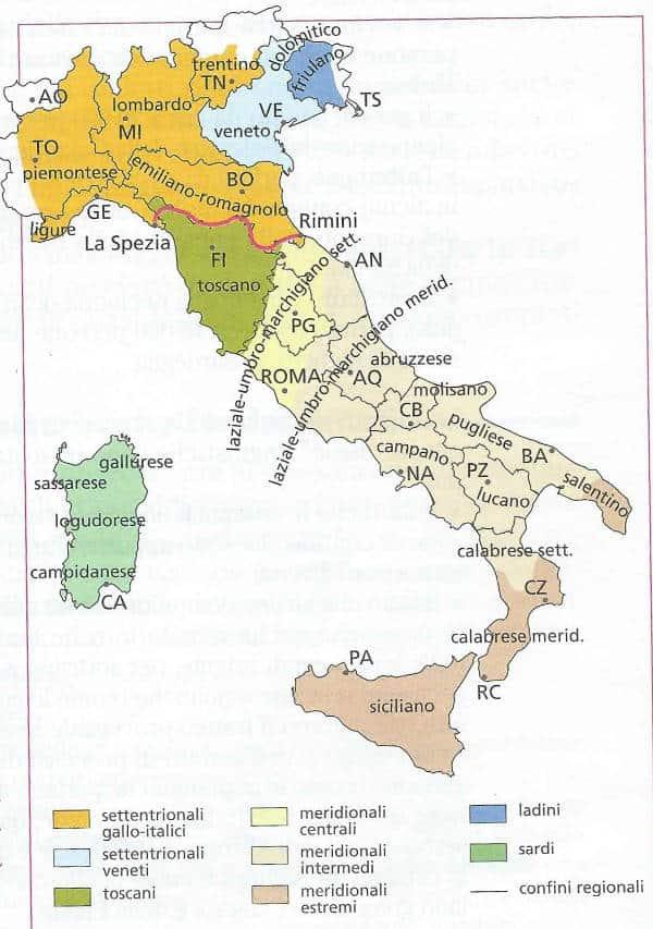 dialetti italiani: quando nacquero. Classificazione