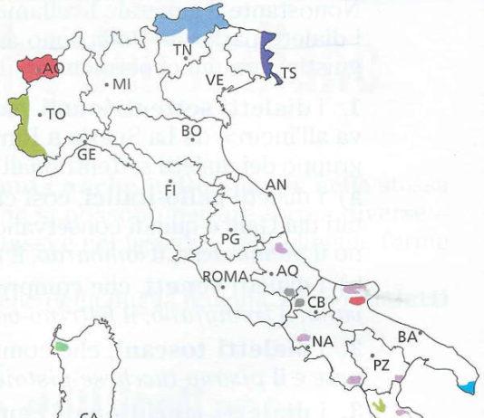 minoranze linguistiche in Italia