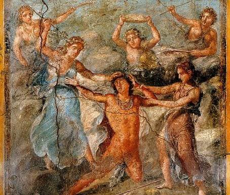 baccanti tragedia di euripide