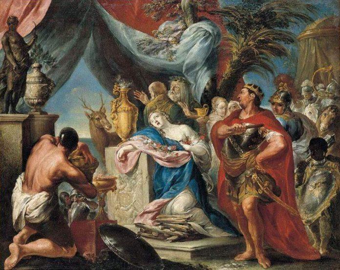 ifigenia in aulide dramma di euripide