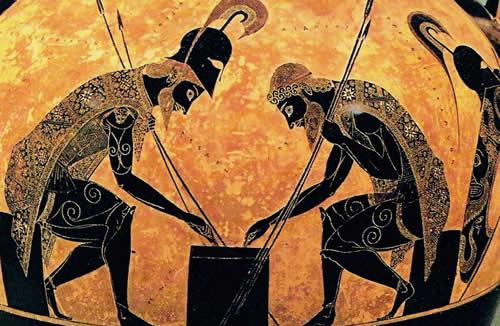 personaggi dell'iliade: uomini e dèi, caratteristiche