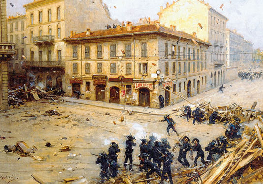 L'Italia nella crisi di fine secolo, 1896-1901