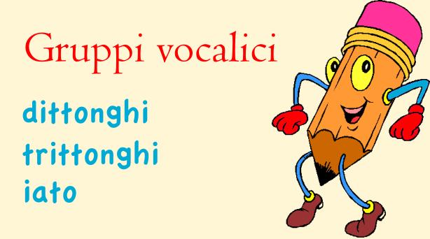 gruppi vocalici: dittonghi trittonghi iato