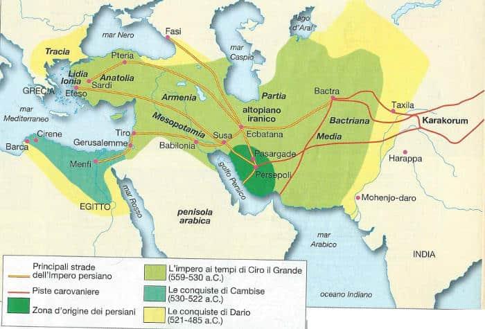 Impero Persiano Nascita Espansione Decadenza Studia Rapido