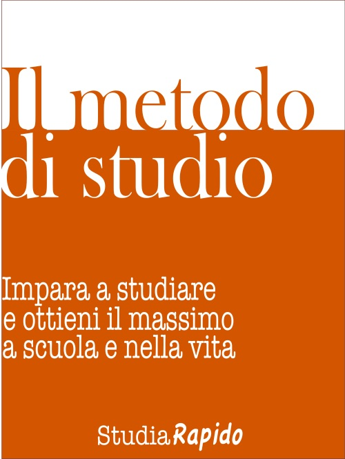 Ebook Il metodo di studio