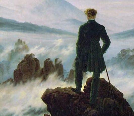 la pittura romantica david friedrich