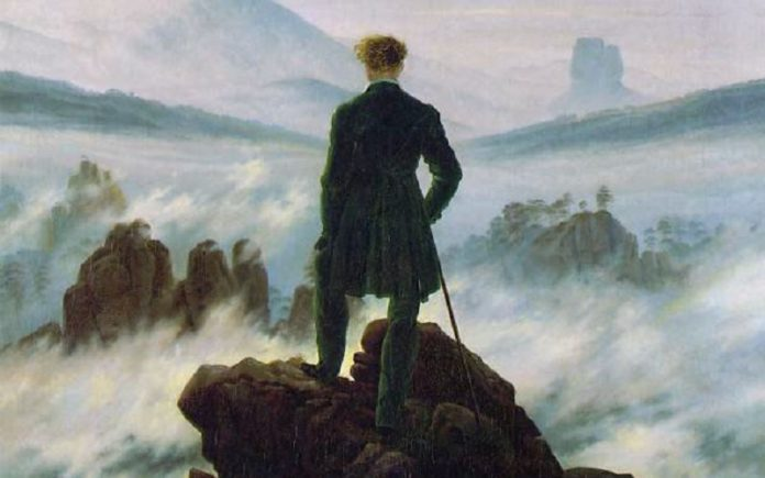 la pittura romantica david friedrich