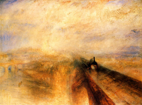 pittura romantica william turner