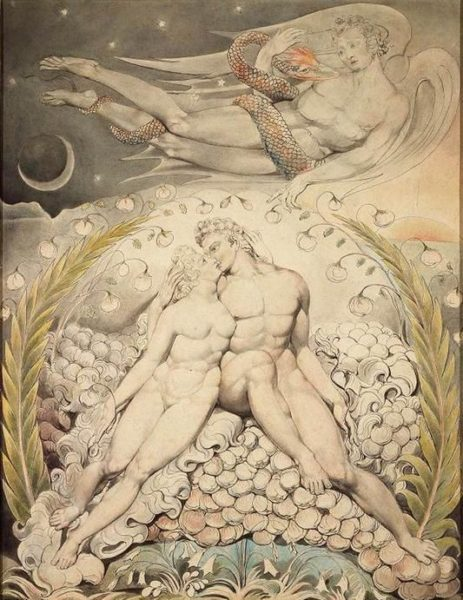 pittura romantica william blake