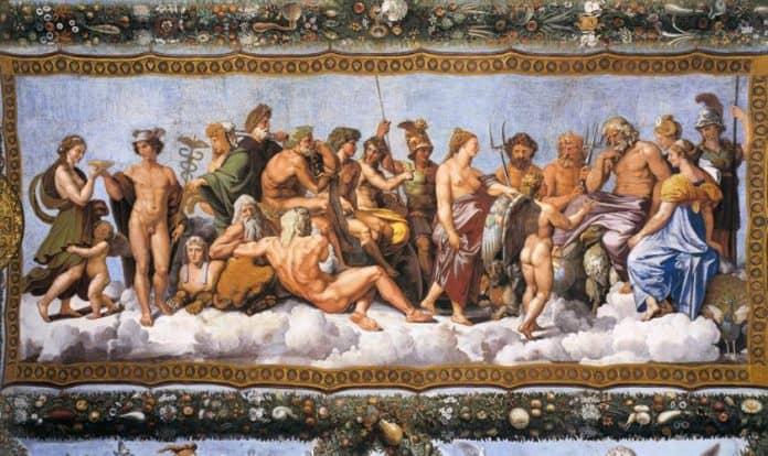 religione dell'antica grecia e divinità greche