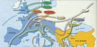 Le invasioni barbariche all'inizio del V secolo