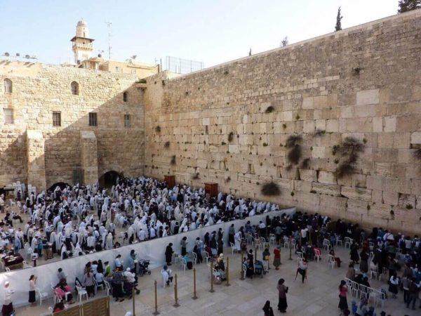 Il Muro del Pianto, Gerusalemme