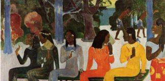 ta matete di paul gauguin descrizione