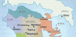 le guerre messeniche condotte da sparta