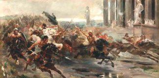 barbari e romani: incontro-scontro tra due culture