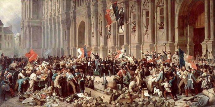 la monarchia di luglio e la seconda repubblica francese