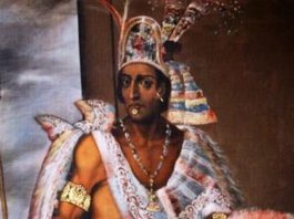 Montezuma, imperatore degli Aztechi
