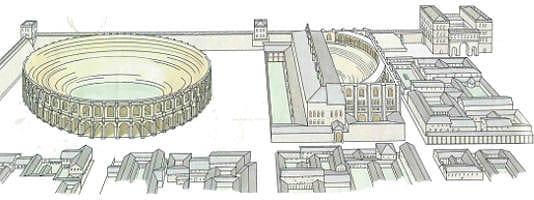 dal castrum militare alla città romana
