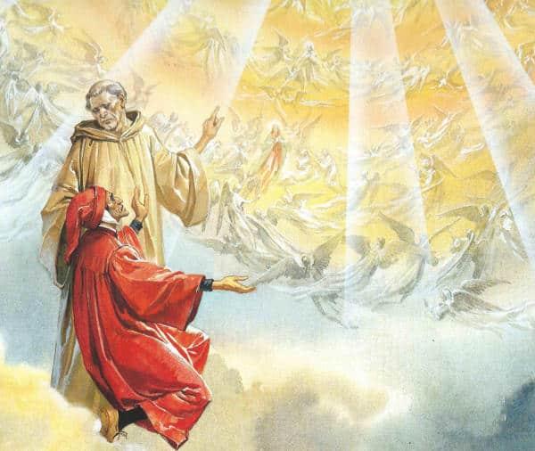 Bernardo di Chiaravalle nella Divina Commedia