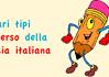 vari tipi di verso della poesia italiana