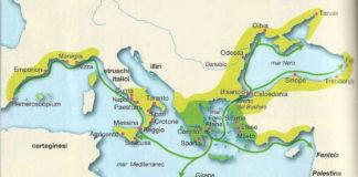 colonizzazione greca e la Magna Grecia