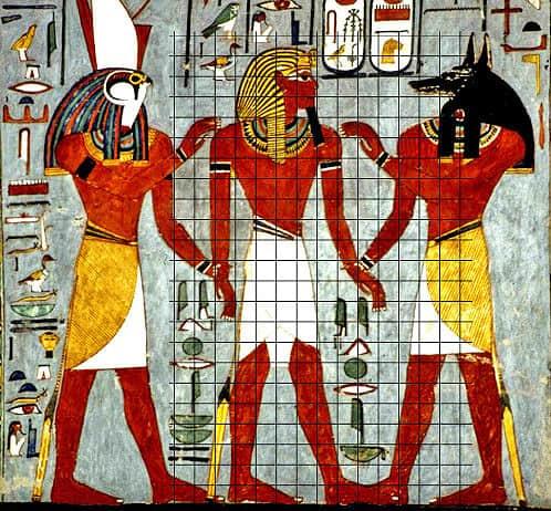 Arte egizia: canone egizio e sistema di rappresentazione