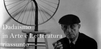 Dadaismo in Arte e Letteratura, riassunto