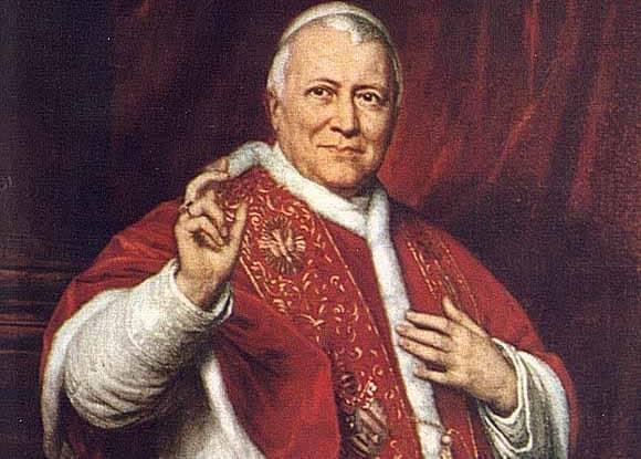 Papa Pio IX, erroneamente detto il