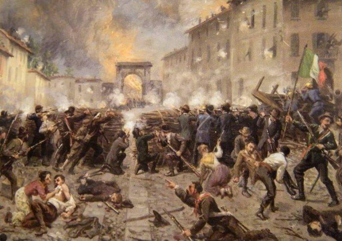I moti del 1848 in Italia e in Europa
