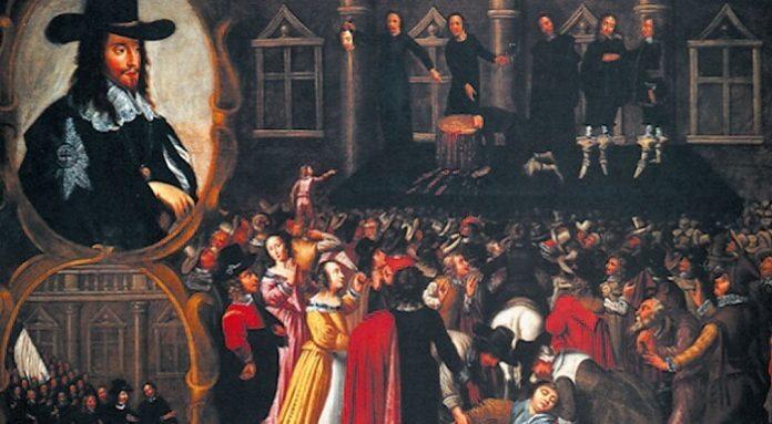 La Prima rivoluzione inglese, riassunto