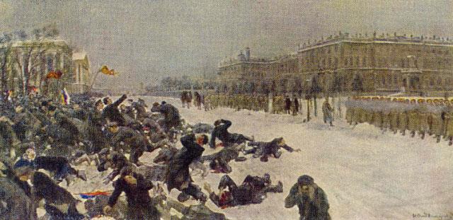 Rivoluzione russa del 1905. Riassunto
