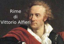 Le Rime di Vittorio Alfieri