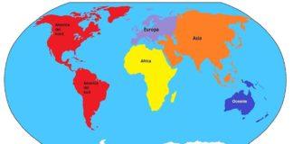 Continenti: cosa, quanti e quali sono