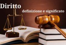 Cos'è il diritto. Definizione e significato
