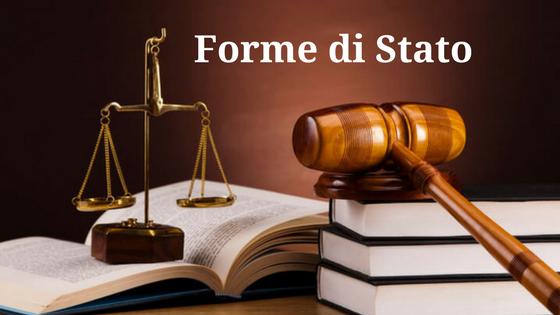 Forme di Stato: definizione e classificazione