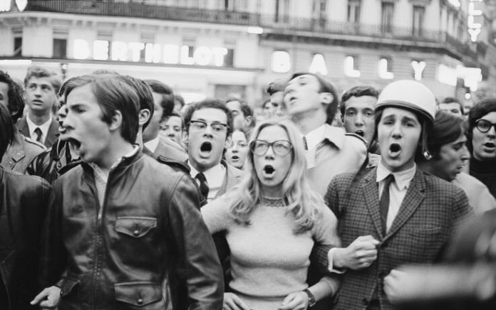 La contestazione giovanile del '68