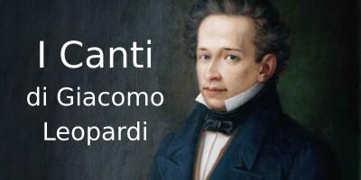 I Canti di Giacomo Leopardi. I concetti chiave