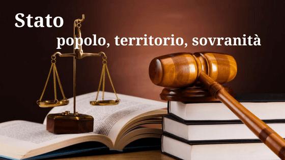Stato ed elementi costitutivi