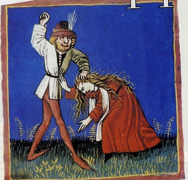 donne e violenza nel medioevo