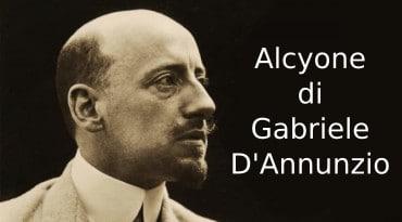 Alcyone D'Annunzio, riassunto