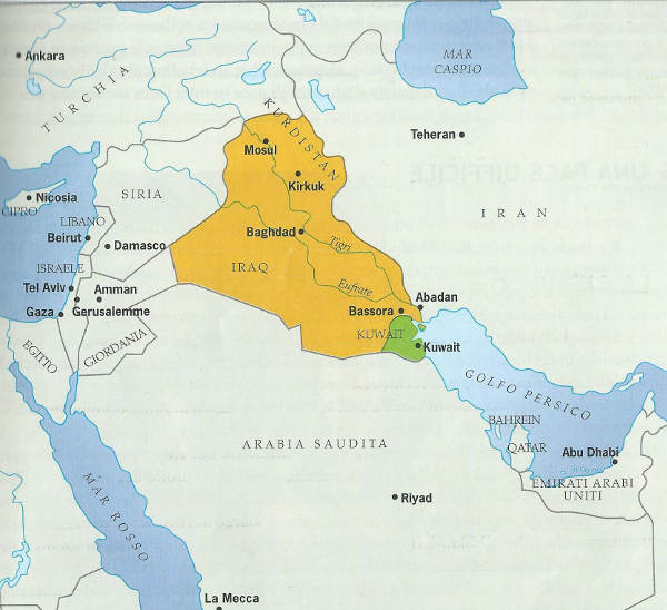 Prima Guerra del Golfo (1990-1991), riassunto